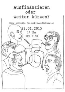 Flyer Diskussionsveranstaltung Uni Bremen